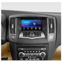 nissan dash gps dvd al por mayor-Android 6.0 Car DVD Player para nissan maxima A35 2009 2010 2011 2012 2013 2014 navegación GPS estéreo BT AUX