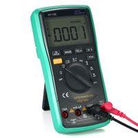 Wholesale voltage multimeter resale online - Multi functional LCD Digital Multimeter Tester NCV True RMS multimetro DC AC Voltage Current Meter Capacitance Resistance Diode