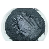 ingrosso vendita di rossetto nero-Vendita calda 100 g Silver Black Pearl polvere colorata Mica pigmento per la decorazione Ombretto Smalto rossetto