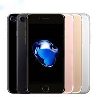 iphone kilidini açma toptan satış-Kilitli Orijinal Apple iphone7 iPhone 7 Artı 3 GB RAM 32/128 GB / 256 GB ROM Dört Çekirdekli IOS LTE 12.0MP Kamera iPhone7 Artı Parmak İzi Telefon