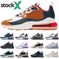 ingrosso scarpe casual per le donne-Nike air max 270 react 2020 Royal Blue Scarpe da corsa uomo donna triple nero bianco bauhaus ottico Travis Scotts casual Outdoor sneakers sportive da uomo