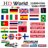Wholesale pandora europe for sale - Group buy IP Subscription Europe France Spain Portugal Germany USA CANADA TV Italy Abonnement For smart tv x96 h96 android tv box