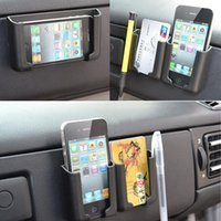 benutze telefon gps großhandel-Zubehör 2017 Neue Auto Aufbewahrungsbox Handyhalter Bluetooth Pylone Mehrzweckwerkzeuge Auto Container Tasche Organizer