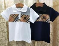 roupas aquecidas venda por atacado-Verão novo bordado calor BB logotipo paris T camisas tees meninos meninas Roupas para meninos menina top clothing