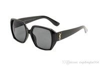 gafas de sol de alta calidad para mujer al por mayor-Alta calidad Nueva moda vintage gafas de sol mujeres Diseñador de la marca para mujer gafas de sol damas gafas de sol con estuches