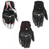 yaz motosiklet deri eldiven toptan satış-Tam deri karbon fiber motosiklet yarış eldivenleri lokomotif boks yaz eldiven