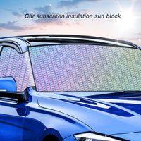 aislamiento para coches al por mayor-Protector solar plegable coche Protector solar de aislamiento del bloque de Sun del coche automático de aislamiento del parabrisas del bloque de Sun