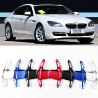 For BMW 6 series Aluminum Steering Wheel DSG Shift Paddle Shifter Extension 2pcs