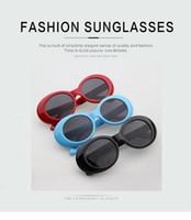 Wholesale kurt cobain sunglasses resale online - Clout Goggles NIRVANA Kurt Cobain GD Sunglasses Classic Vintage Retro Sunglasses s Sun Glasses Punk Rock Glasses JJ20231