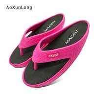 Wholesale pvc swings resale online - Women s Massage Slippers Fashion Slimming Lose Weight Swing Sandals Shaping Body Fastly Ladies Flip Flops Female Home Slippers