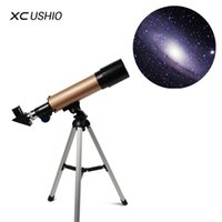 trípode telescópico al por mayor-Telescopio astronómico monocular al aire libre F36050 con trípode Telescopio de zoom 90 veces El mejor regalo de Navidad para niños