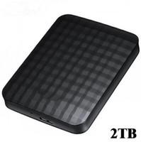 ücretsiz harici sabit diskler toptan satış-Ücretsiz kargo Harici mobil sabit disk 2 TB hdd 2.5 usb3.0 Sata M3 Sabit disk disk 2 TB HDD