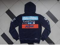 hoodies de ciclagem venda por atacado-KTM adid Sports Zipper velo GoPro alta qualidade de impressão Hoodie ciclismo terno Corridas Desporto Casual Estilo Hot recomendado