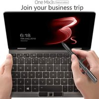 """14 inçlik dizüstü bilgisayar 2gb toptan satış-Bir Netbook Bir Mix 3S Yoga İşlemci Intel 8 çekirdekli I7-10510Y 8.4"""" Mini Cep Dizüstü Ultrabook UMPC Win 10 Ev, 2560X1600 Dokunmatik Ekran Tablet PC"""