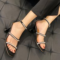Wholesale colorful sexy heels for sale - Group buy Dropshipping Sexy T Strap High Heels Sandals Women Summer Colorful Crystal Gladiator Shoes Woman Fashion Party Sandalias