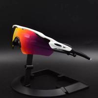 binmek toptan satış-Radar EV Pitch Polarize camlar Bisiklet Gözlük bisiklet bisiklet gözlük sürme güneş gözlüğü kadın erkek spor güneş gözlüğü kaplama güneş gözlüğü