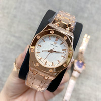 Wholesale beige rose dress for sale - Group buy HOT items Top Fashion Women Dress Watch rose gold bracelet Luxury wristwatch dropshipping lady party watches Quartz Clock elegant wristwatch