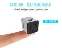 su geçirmez dijital video camcorder toptan satış-Yeni Su Geçirmez IR Gece Sürüm HD 1080 P Mini Kamera SQ13 WiFi Kablosuz Spor DV Dijital Video Kaydedici IP Mini kamera