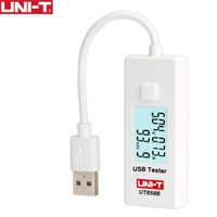 Wholesale uni testers for sale - Group buy UNI T UT658B UT658 USB Voltage Tester Phone Computer Charging Current Measure Energy Monitor LCD Backlight