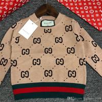 ingrosso cotone coreano per i bambini-I bambini vestiti di inverno ragazze vestiti dai bambini Maglione per bambini coreano indumento del bambino di rendering girocollo Pullover in Will Knitting