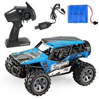 Wholesale charger for rc resale online - Electric RC Car Rock Crawler Remote Control Toy Cars truck On The Radio Controlled Drive Off Road Toys For Boys Kid Gift T200115