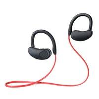 водонепроницаемые наушники bluetooth для бега оптовых-Bluetooth наушники водонепроницаемый беспроводные наушники Спорт работает гарнитура стерео бас наушники Handsfree с микрофоном для телефона xiaomi