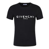 ingrosso maglietta bianca nera bianca-T-shirt estiva da uomo t-shirt di design con stampa fuori posto nero bianco alta qualità uomo donna coppia modelli camicia di lusso comodaGivenchy