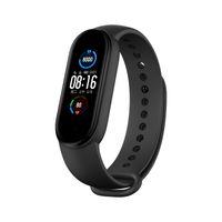 Wholesale xiaomi mi wrist band resale online - Xiaomi Youpin Original Xiaomi Mi Band Smart Bracelet Global Version quot AMOLED Screen Bluetooth Waterproof Miband5 Smart Wristband