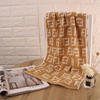 handtücher großhandel-F Brief Handtuch Baumwolle Komprimiert Rechteck Hause Handtuch Hand Gesicht Haar Bad Designer Handtuch Freies Verschiffen