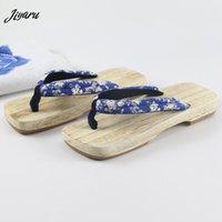 sandálias geta venda por atacado-2019 Mulheres Geta Tamancos Verão Chinelos De Madeira Sandálias Geta Feminino Sandálias Das Mulheres Adequadas Japonês Tradicional Zapatos De Mujer