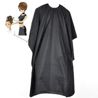 Adult Hair Cutting Aprons Professional Durable Hairdressing Salons Black Adult Haircut Salon Cloth Aprons Shaved Wai Cloth DH0890