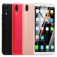 Wholesale clone phone for sale - Group buy Clone Vivo X21 Big Screen Smart Phone B Ram GB Rom Mtk6580A Quad Core Mobile Phone MP SHowing GB GB