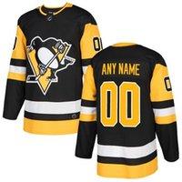 crosby jersey de invierno al por mayor-2019 camisetas de hockey baratas Pittsburgh Penguins Sidney Crosby Custom EE. UU. Jersey de hockey sobre hielo Tienda en blanco Jóvenes Niños Invierno Clásico DHL camisetas 4x