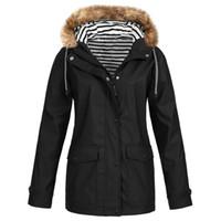 Details about Plus Size Womens Waterproof Jacket Raincoat Hooded Rain Coats Forest Coat UK
