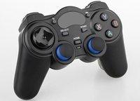 juegos al por mayor-1 unids por Post 2.4G Controlador de juegos inalámbrico Gamepad Joystick mini control remoto para cajas universales de Android TV y Smartphone