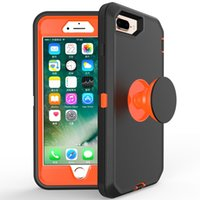 Wholesale iphone e6 online – custom Newest Defender Case for iPhone SE2 XS Max s Plus Built In Air Bag Kickstand Holder Shell Galaxy A10e A20 A30 A50 K40 Stylo Moto E6