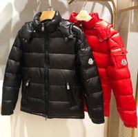 ingrosso giacche di nylon coreane-spessa versione coreana 2019 monc nuovi uomini giacca di cotone marea degli uomini breve cotone delle giù inverno giacca uomo giacca ler s-3XL