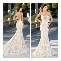 Wholesale beautiful strapless white wedding dresses for sale - Group buy Sexy backlee mermaid wedding dresses beautiful strapless lace sexy sleeveless wedding dress beautiful wedding dress Robes De Mariee