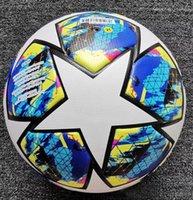 bola de gol venda por atacado-2019 2020 PU bola de futebol de tamanho oficial 5 Football Goal equipamento de treinamento League Outdoor Futebol fanyse