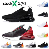 Wholesale mens winter outdoor sports for sale - Group buy High quality triple black mens women running shoes Bred Black white volt Platinum Tint photo blue trainers sports sneakers size