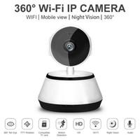 ip ir remote großhandel-WiFi Wireless Pan Tilt CCTV Netzwerk Home Security IP Kamera IR Nachtsicht, 720p HD Nachtsicht, Motion Tracker, Remote Monitor