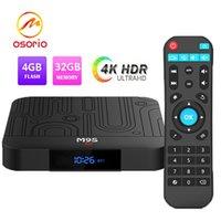 lecteur multimédia pc achat en gros de-1 PCS Hot M9S J1 Android TV BOX Android 8.1 RK3328 Quad core 4 Go de RAM 32 Go de ROM 3D 4K HDR10 H.265 USB 3.0 Lecteur multimédia Lecteur multimédia IPTV