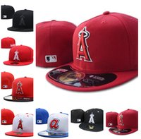 Wholesale angels baseball hats resale online - 2020 New Summer Angels A letter Baseball caps gorras bones men women Casual Outdoor Sport Fitted Hats