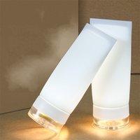 hafif alkış toptan satış-Kamp Dokunmatik Alkış Lamba Silikon Şarj LED Gece Lambası Manyetik Yaratıcı Taşınabilir Fenerler Ile Hediyeler Için 13 5xh E1