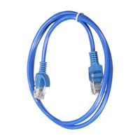 parche lan al por mayor-Cable de Ethernet RJ45 2019 Cable de Internet de extensión UTP Cable de conexión de red LAN macho a macho Cable para computadora