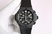 мужская швейцарская оптовых-V-6 Новые роскошные мужские часы Swiss 4100 Автоматическая 28800 Vph Углеродное волокно Геометрические линии Корпус Сапфировое стекло Super Luminous Water Resistant