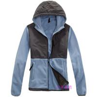 xxl kadın kışlık ceket toptan satış-Yeni 8 farklı Renk Bayan Kış Polar Ceketler Mont Açık Rüzgar Geçirmez Nefes Ceket Siyah Beyaz Yüz Bayanlar Mont boyutu S-XXL Kuzey