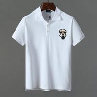 gelbe poloshirts männer großhandel-Designer-T-Shirts für Herren, Designer-T-Shirts für den Sommer und Herbst, Polo-Shirts für Modepaare und gelbe kurze Ärmel der Sportserie