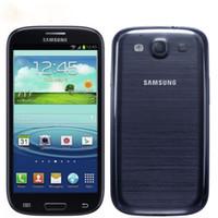 samsung'un cep telefonları açıldı toptan satış-Yenilenmiş Smartphone Samsung Galaxy S3 i9300 Android Dört Çekirdekli Unlocked Orijinal Cep Telefonu 8MP Kamera NFC 4.8 '' GPS Wifi 3G