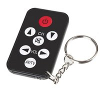 Wholesale infrared keychain for sale - Group buy 200pcs Mini Universal Key Ring Keys Infrared IR TV Set Remote Control Keychain Controlle